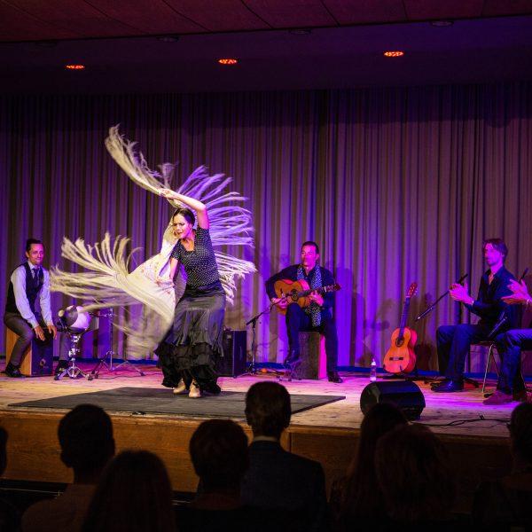 """Grupo Flamenco """"Al Aire"""" zu Gast im vz.jenbach"""